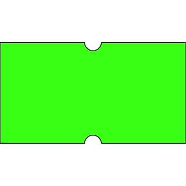 Motex – Étiquettes 5500 fluorescentes, 7/8 x 7/16 po, vert, 10/rouleaux (38-1253-FLGREEN)