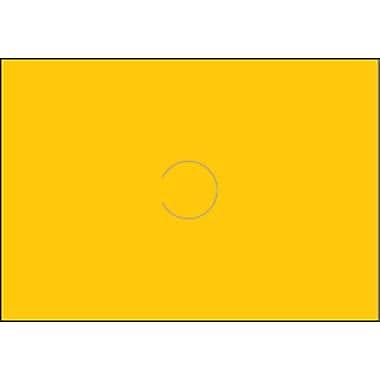 ´Motex – Étiquettes vierges 6600, 7/8 po x 10/16 po, jaune, paq./10 000 (38-1261-YELLOW)