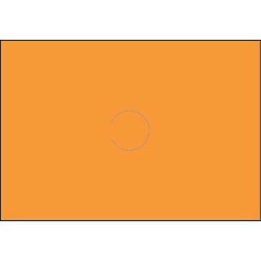 Motex – Étiquettes 5500 fluorescentes, 7/8 x 10/16 po, orange, 10/rouleaux (38-1261-FLORAN)