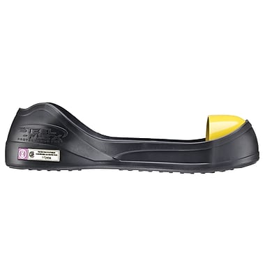 Steel-Flex Steel Toe Overshoe, CSA Z334, Medium, Black