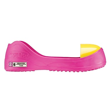 Steel-Flex Steel Toe Overshoe, CSA Z334, Medium, Pink