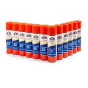 Elmer's Permanent All-Purpose Glue Sticks, Clear, .77 oz, 12/Pack