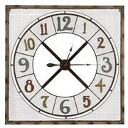 Cooper Classics  Maxwell Metal Wall Decor Clock (COOP890)