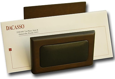 Dacasso Wood & Leather Letter Holder (DCSS010)