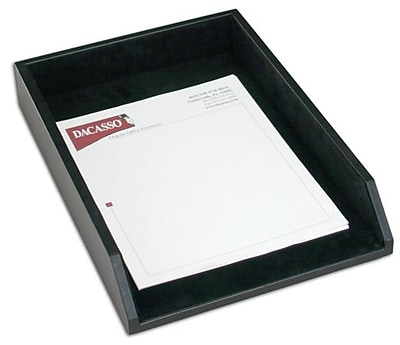 Dacasso Leather Front-Load Legal-Size Tray (DCSS177)
