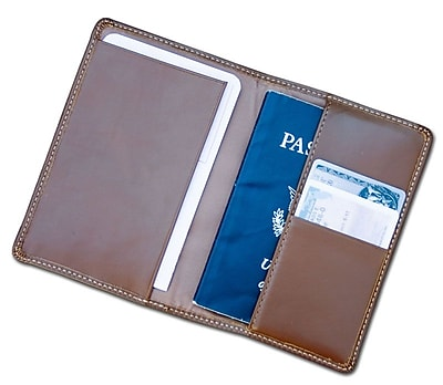 Dacasso Rustic Brown Leather Passport Holder (DCSS419)