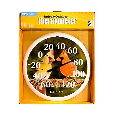 Headwind Consumer Products 13.5 in. Dial Thermometer with Cardinals (HCP027)