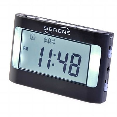 Harris Communications Vibrating Travel Alarm Clock (HRSC02891) 2394974