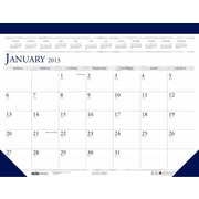 House of Doolittle HOD15045101 Deluxe  12 Month Refillable Desk Pad (HSODL025)