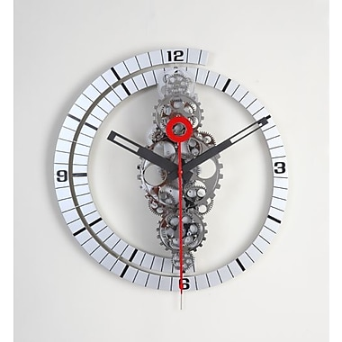 Maples Large Moving-Gear Wall Clock (MPLS006)