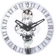 Maples  Moving-Gear Wall Clock - With Glass Cover (MPLS014)