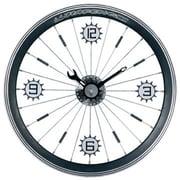 Maples  Bike Wall Clock - With Black Aluminum Rim (MPLS030)