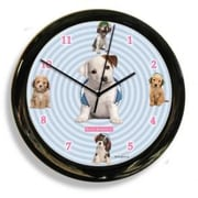 California Clock  Headphones Dog Clock (OC0509)