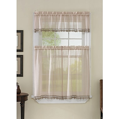 CHF Leanne 58'' Valance and Tier Set