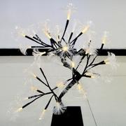 Creative Motion 32 Light Fiber Optic Icicle Light