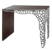 Modern Day Accents Colmena Honeycomb Console Table