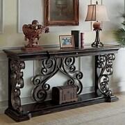 EasternLegends Sorrento Console Table; Dark wood