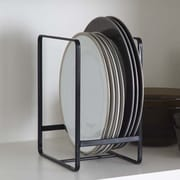 Yamazaki USA Tower Dish Kitchenware Divider; Black