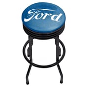 Ford Black Ribbed Bar Stool - Ford Genuine Parts (886511971677)