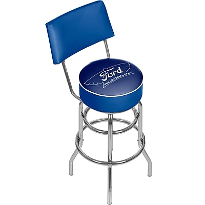 Ford Swivel Bar Stool with Back - The Universal Car (886511971745)