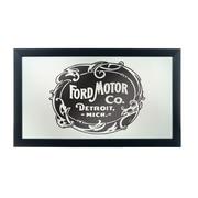 Ford Framed Logo Mirror - Vintage 1903 Ford Motor Co. (886511971844)