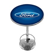 Ford Chrome Pub Table - Ford Oval (886511971929)