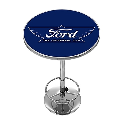 Ford Chrome Pub Table - The Universal Car (886511971912)