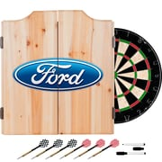 Ford Dart Cabinet Set with Darts and Board - Ford Oval (886511972025)