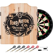 Ford Dart Cabinet Set with Darts and Board - Vintage Ford Motor Co. (886511972018)