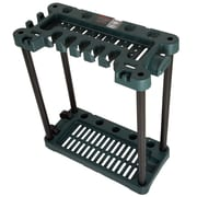 Stalwart Rolling Garden Tool Storage Rack Tower -  Fits 40 Tools (886511973800)