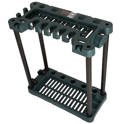 Stalwart Rolling Garden Tool Storage Rack Tower - Fits 40 Tools (886511973800)