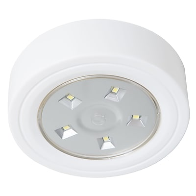 Lavish Home 5 LED Portable Puck and Ceiling Light with Remote Control (886511977952)