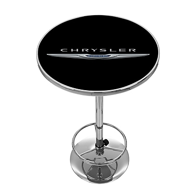 Chrysler Chrome Pub Table (886511977754)