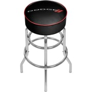Dodge Padded Swivel Bar Stool (886511977624)