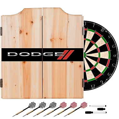 Dodge Dart Cabinet Set with Darts and Board (886511977709)