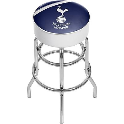 English Premier League Padded Swivel Bar Stool - Tottenham Hotspurs (190836176724)