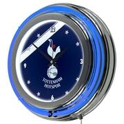 English Premier League Chrome Double Neon Clock - Tottenham Hotspurs (190836176762)