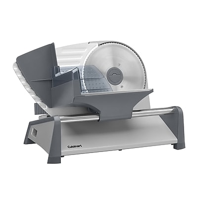 Cuisinart® Heavy Duty Food Slicer, Gray (FS-75)