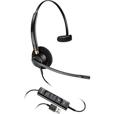 Plantronics® EncorePro 500 Series HW545D Convertible Corded Headset