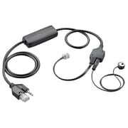 Plantronics® Savi 700 Series W730/APV-63 Cordless Over-the-Ear Headset System with Microphone and Cable, Black/Gray