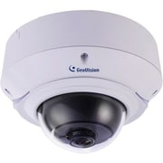 GeoVision® GV-VD2540 Wired Super Low Lux Outdoor Dome Network IP Camera, Night Vision, White