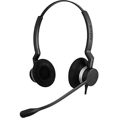 Jabra® Biz™ 2300 2309-820-88001-04 Corded Headset with Noise Canceling Microphone