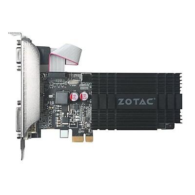 Zotac® GT 710 GeForce DDR3 64-bit PCI Express x1 1GB Graphic Card