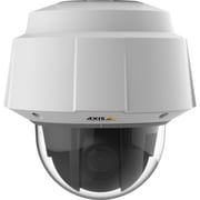 AXIS® Q6052-E PTZ Wired Outdoor Dome Network Camera, Day/Night Vision, White