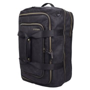 "Cocoon® MCP3504 Urban Adventure Waxed Canvas Convertible Carry-On Travel Backpack for 17"" Laptops, Black"