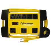 Cyberpower® 6' 8-Outlet Power Strip, Yellow (DS806MYL)