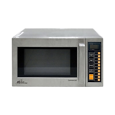 Royal Sovereign® 0.9 cu. ft. Microwave Oven, Stainless Steel (RCMW1000-25SS)