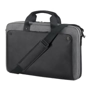 "HP® P6N20UT Executive Slim Top Load Case for 15.6"" Notebook/Tablet PC, Black"