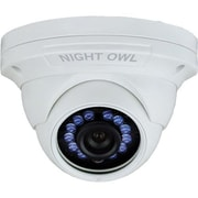 Night Owl CAM-HDA10W-DMA Wired Indoor/Outdoor Bullet Security Camera, Night Vision, White