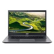 "Acer™ 14 CP5-471-C0EX 14"" Chromebook, LCD-LED, Intel Celeron® 3855U, 16GB Flash, 4GB RAM, Chrome, Black/Silver"